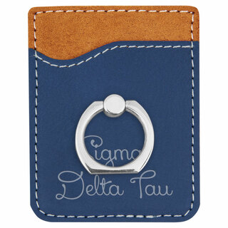 Sigma Delta Tau Phone Wallet with Ring