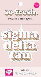 Sigma Delta Tau Retro Air Freshener (2 pack)