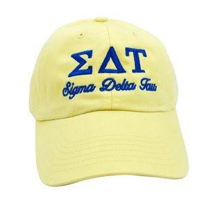 Sigma Delta Tau Script Cap