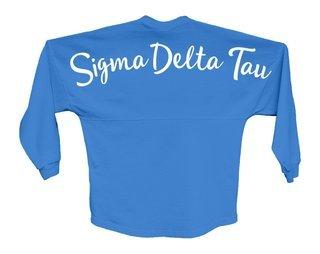 Sigma Delta Tau Script Jersey