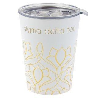 Sigma Delta Tau Short Coffee Tumblers