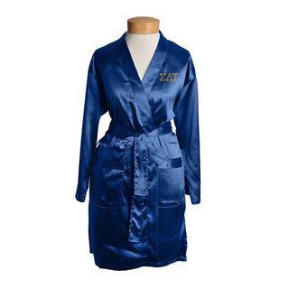 Sigma Delta Tau Short Satin Robe
