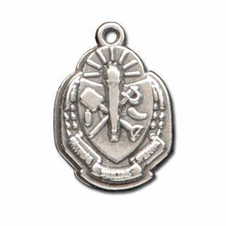 Sigma Delta Tau Silver Crest - Shield Charm