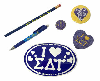 Sigma Delta Tau Sorority Large Pack $15.00