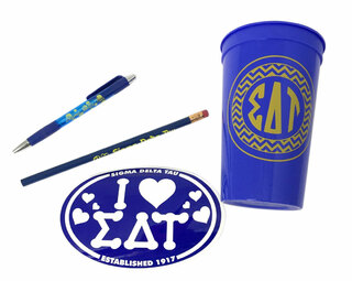 Sigma Delta Tau Sorority Love Set $8.95
