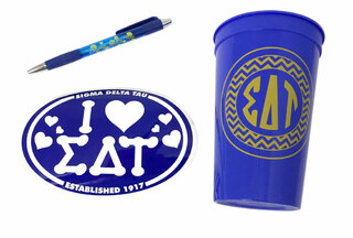 Sigma Delta Tau Sorority Medium Pack $7.50
