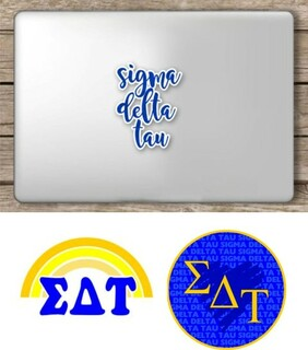 Sigma Delta Tau Sorority Sticker Collection - SAVE!