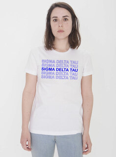 Sigma Delta Tau Thank You For Shopping Tee - Comfort Colors