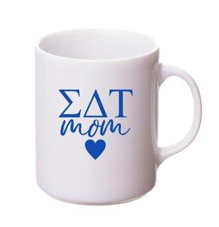 Sigma Delta Tau White Personalized Coffee Mug