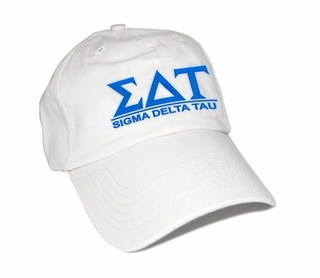 Sigma Delta Tau World Famous Line Hat - MADE FAST!
