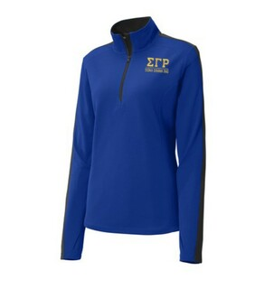 Sigma Gamma Rho 1/4 Zip Training Top