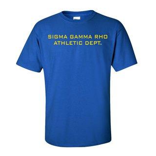 Sigma Gamma Rho Ath. Dept. Tee