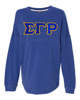 DISCOUNT-Sigma Gamma Rho Athena French Terry Dolman Sleeve Sweatshirt