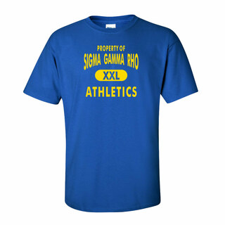 Sigma Gamma Rho Athletics T-Shirts