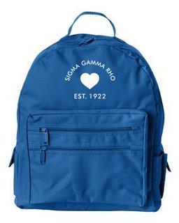 DISCOUNT-Sigma Gamma Rho Mascot Backpack