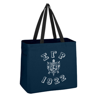 Sigma Gamma Rho Block Crest - Shield Cape Town Bag