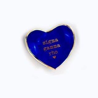 Sigma Gamma Rho Ceramic Ring Dish
