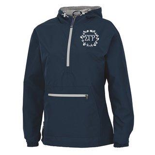 Sigma Gamma Rho Chatham Anorak Solid Pullover