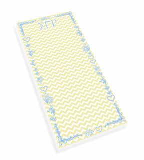 Sigma Gamma Rho Chevron Long Notepad