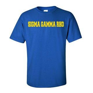 Sigma Gamma Rho College Tee