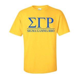 Sigma Gamma Rho Comfort Colors Heavyweight T-Shirt