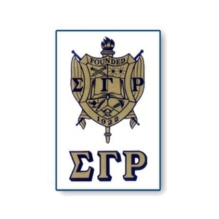 Sigma Gamma Rho Crest - Shield Decals-CLOSEOUT