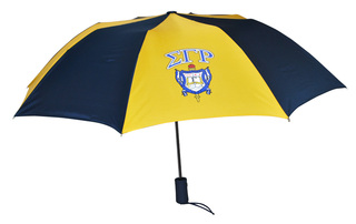 Sigma Gamma Rho Crest - Shield Umbrella