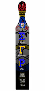 Sigma Gamma Rho Custom Full Color Paddle