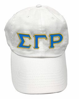 Sigma Gamma Rho Double Greek Letter Cap