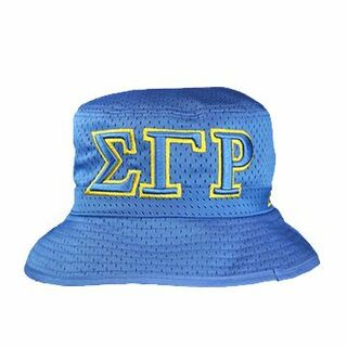 Sigma Gamma Rho Embroidered Bucket Hat