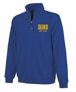 Sigma Gamma Rho Established Crosswind Quarter Zip Sweatshirt