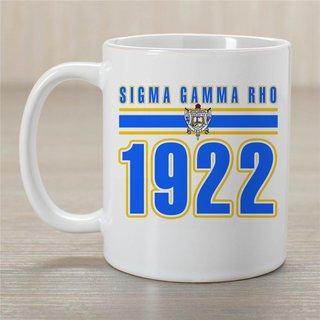 Sigma Gamma Rho Established Year Coffee Mug - Personalized!