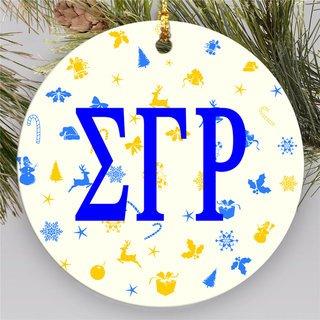 Sigma Gamma Rho Holiday Cheer  Ornaments