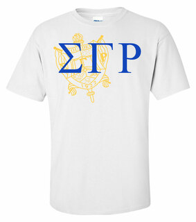 Sigma Gamma Rho Greek Crest - Shield T-Shirt