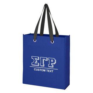 Sigma Gamma Rho Grommet Tote Bag