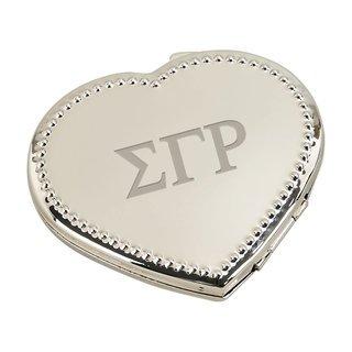Sigma Gamma Rho Heart Shaped Classic Compact