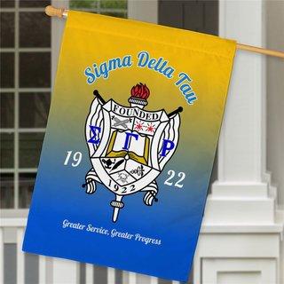 Sigma Gamma Rho House Flag