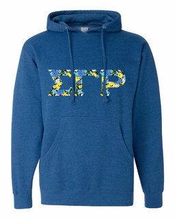 Sigma Gamma Rho Lettered Independent Trading Co. Hooded Pullover Sweatshirt
