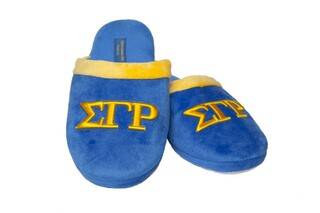 Sigma Gamma Rho Lettered Slippers