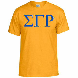 Sigma Gamma Rho Lettered Tee - $11.95! - MADE FAST!