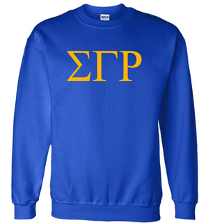 Sigma Gamma Rho Lettered World Famous Greek Crewneck