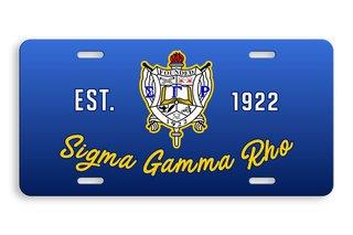 Sigma Gamma Rho License Cover