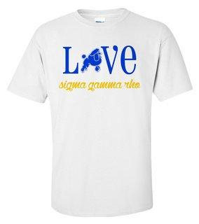 Sigma Gamma Rho Love Mascot T-Shirt