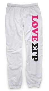 Sigma Gamma Rho Love Sweatpants