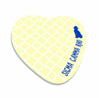 Sigma Gamma Rho Mascot Sticky Notes