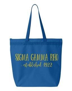 Sigma Gamma Rho New Established Tote Bag
