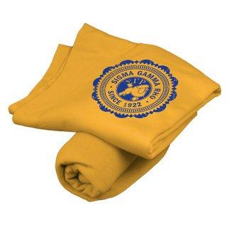 Sigma Gamma Rho Old School Seal Sweatshirt Blanket
