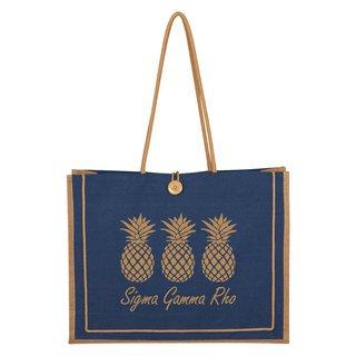 Sigma Gamma Rho Paradise Jute Bag