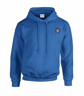 DISCOUNT-Sigma Gamma Rho Crest - Shield Emblem Hooded Sweatshirt