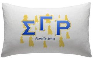 Sigma Gamma Rho Pillowcase